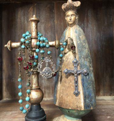 Natural Stone Rosaries